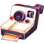 64x64px size png icon of Camera Polariod