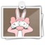 64x64px size png icon of KAWSbunny