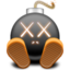 64x64px size png icon of kawsbombglownv9