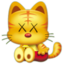 64x64px size png icon of kawscat2yE0H