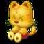 64x64px size png icon of kawscat34U7j