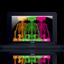 64x64px size png icon of kawsmacbookblack2cZpx