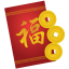 64x64px size png icon of red envelope