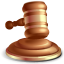 64x64px size png icon of Gavel Law