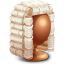 64x64px size png icon of Judge