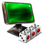 64x64px size png icon of My Network Dice