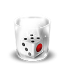 64x64px size png icon of Trash Full Dice