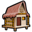 64x64px size png icon of Beach Cabana