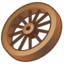 64x64px size png icon of wagon wheel