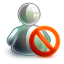 64x64px size png icon of blocked offline