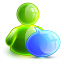 64x64px size png icon of talking