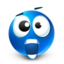 64x64px size png icon of scared