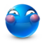 64x64px size png icon of love glad
