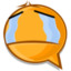 64x64px size png icon of cry