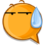 64x64px size png icon of sweat