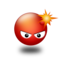 64x64px size png icon of Angry Smile