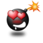 64x64px size png icon of Love Smile