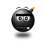 64x64px size png icon of Straight face Smile