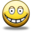 64x64px size png icon of Grin