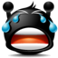 64x64px size png icon of Cry Smile