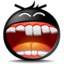 64x64px size png icon of Haha Smile