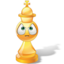 64x64px size png icon of King Chess