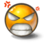 64x64px size png icon of Pissed off