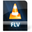 64x64px size png icon of Flv File