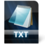 64x64px size png icon of Txt File