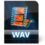 64x64px size png icon of Wav File