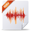 64x64px size png icon of wav