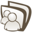 64x64px size png icon of Conversations or msn shared folder