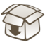 64x64px size png icon of Dropbox