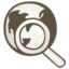 64x64px size png icon of Internet search