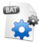 64x64px size png icon of Filetype BAT