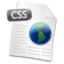 64x64px size png icon of Filetype CSS