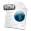 64x64px size png icon of Filetype HTML