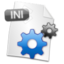 64x64px size png icon of Filetype INI
