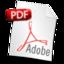 64x64px size png icon of Filetype PDF