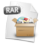64x64px size png icon of Filetype RAR
