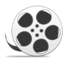 64x64px size png icon of Reel with film copy