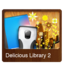 64x64px size png icon of Delicious Library 2v1
