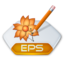 64x64px size png icon of Adobe illustrator eps