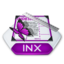 64x64px size png icon of Adobe indesign inx