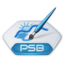 64x64px size png icon of Adobe photoshop psb
