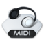 64x64px size png icon of Media music midi