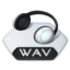 64x64px size png icon of Media music wav