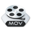 64x64px size png icon of Media video mov