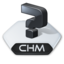 64x64px size png icon of Misc file chm