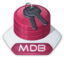 64x64px size png icon of Office access mdb